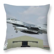 A Pakistan Air Force F-16a Taking Throw Pillow