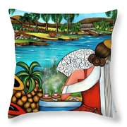 A Place To Remember Throw Pillow
