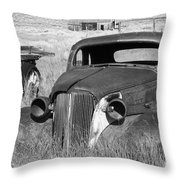 A Ride To The Past Throw Pillow