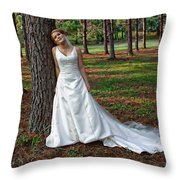 A Special Moment Throw Pillow