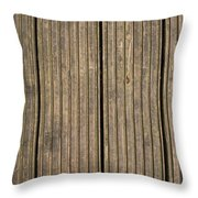 A Wood Panel Background, Floor, Wall, Texture Throw Pillow
