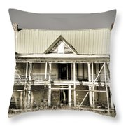 Abandoned Plantation House #1 Throw Pillow