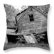 Abandoned  Throw Pillow