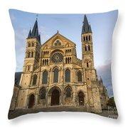 Abbey Of Saint - Remi Reims Throw Pillow