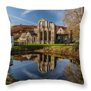 Abbey Reflection Throw Pillow