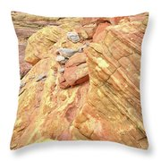 Above Wash 3 In Valley Of Fire Throw Pillow