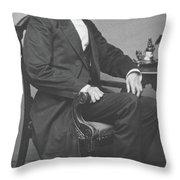 Abraham Lincoln Throw Pillow