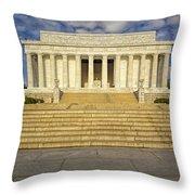 Abraham Lincoln Memorial  Throw Pillow