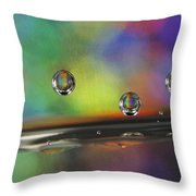 Abstract 021 Throw Pillow
