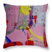 Abstract 10061 Throw Pillow