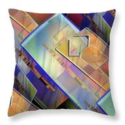 Abstract  145 Throw Pillow