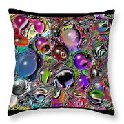Abstract 62316.5 Throw Pillow