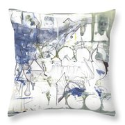 Sjb-17 Throw Pillow