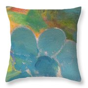 Abstract Close Up 10 Throw Pillow