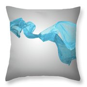 Abstract Fabric Background Throw Pillow