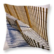 Abstract Ocean Love Throw Pillow
