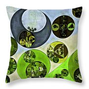 Abstract Painting - Maire Throw Pillow