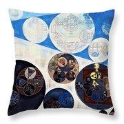 Abstract Painting - San Marino Throw Pillow