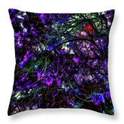 Abstract Trees 291 Version 3 Throw Pillow