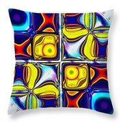 Abstractica Moderna Catus 1 No. 1 H B Throw Pillow