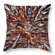Abstraction 3101 Throw Pillow