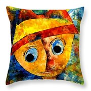 Abstraction 3203 Throw Pillow