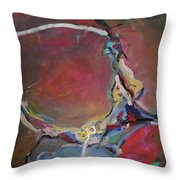Abstraction#8 Throw Pillow