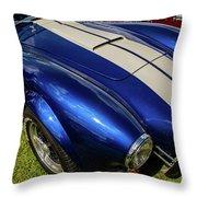 Ac Cobra Throw Pillow