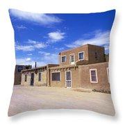 Acoma Pueblo Throw Pillow