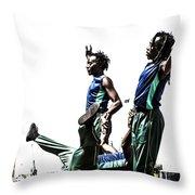 Acroback-street Throw Pillow