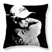 Adam Scott Throw Pillow