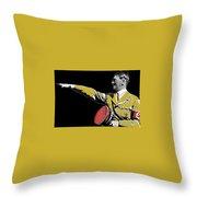 Adolf Hitler Saluting  Circa 1933-2012  Throw Pillow