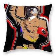 Adolf Hitler Saluting 2 Circa 1933-2013 Throw Pillow