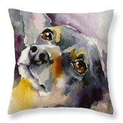 Adopt125 Throw Pillow