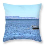 Aegadian Islands - Sicily Throw Pillow