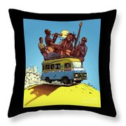 African Americans Throw Pillow