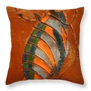 Africana - Tile Throw Pillow