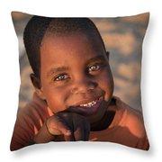 Africa's Future Throw Pillow