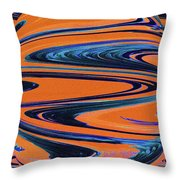 Agave Abstract Throw Pillow