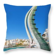 Agios Nikolaos Throw Pillow