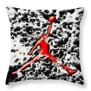 Air Jordan 5g Throw Pillow
