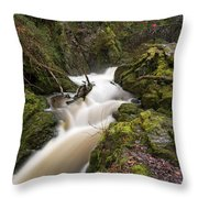 Aira Force Lower Stone Bridge Throw Pillow