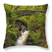Aira Force Throw Pillow