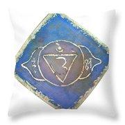 Ajna - Third Eye Chakra  Throw Pillow