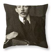 Alberto Santos-dumont Throw Pillow