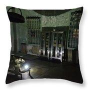 Alcatraz Federal Penitentiary Throw Pillow