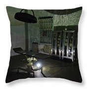 Alcatraz Federal Penitentiary Throw Pillow