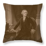 Alexander Hamilton - Two Throw Pillow