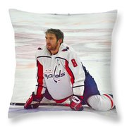 Alexander Ovechkin Throw Pillow