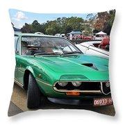Alfa Romeo Montreal Throw Pillow